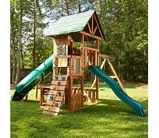 Small swing sets with slide Plan