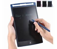 Small writing tablets Plan