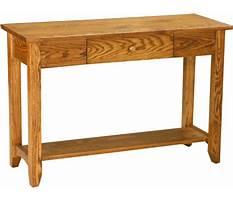 Sofa tables amish Plan