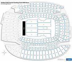 Soldier field seating chart media deck Plan