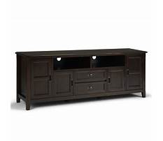 Solid wood tv media centers Plan