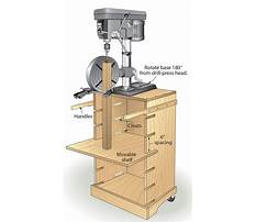 Stand for benchtop drill press Plan
