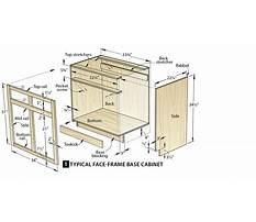 Standard base cabinet sizes Plan
