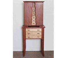 Standing jewelry cabinet plans Plan