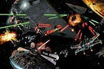 Star Wars Battle in Space