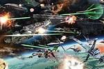 Star Wars Clone Wars Space Battles