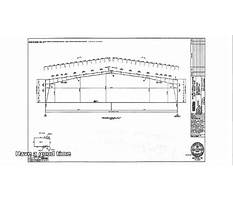 Steel shed designs free Plan