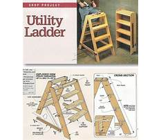 Step ladder plans woodwork Plan
