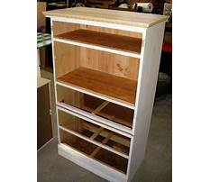 Stereo cabinets wood Plan