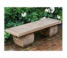 Stone garden benches perth waca Plan