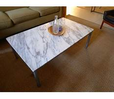 Stone quartz or marble coffee and end tables Plan