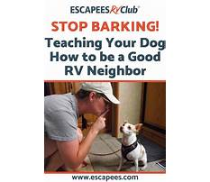 Stop dog from barking at neighbors Plan