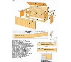 Storage benches seating Plan