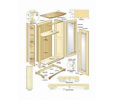 Storage cabinet plans woodworking Plan