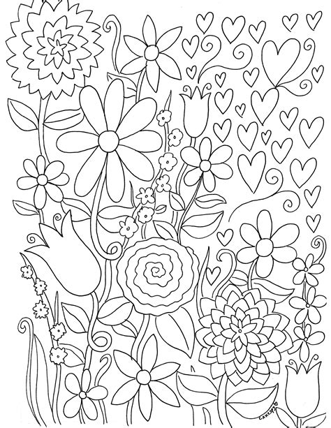 HD wallpapers coloring pages for art therapy Page 2