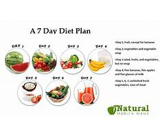 Strict fruit and vegetable diet plan Plan