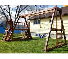 Swing construction plans Plan