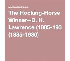 Symbolism in the rocking horse winner Plan