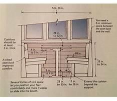 Table bench seat plans.aspx Plan