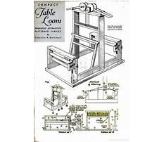 Table loom plans.aspx Plan