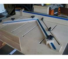 Table saw accessories plans.aspx Plan