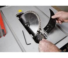 Table saw riving knife vs splitter.aspx Plan