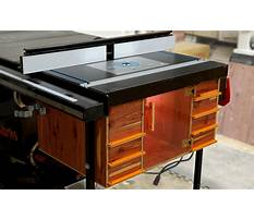 Table saw router cabinet plans Plan
