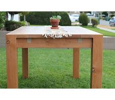 Table with extension leaves Plan