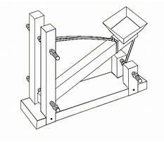 Tabletop catapult Plan