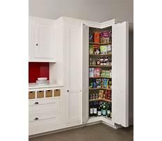 Tall corner kitchen cabinet Plan