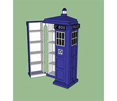 Tardis dvd cabinet plans Plan