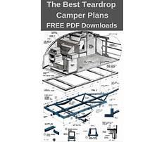 Teardrop camper trailer plans how to build Plan