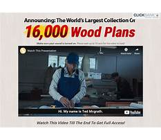 Teds woodworking money back Plan