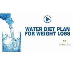 The slimming new water cure diet Plan