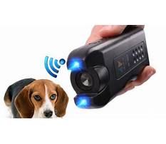 To stop dogs barking devices Plan