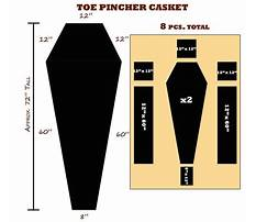 Toe pincher coffin plans free Plan