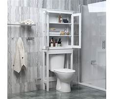 Toilet bathroom rack Plan