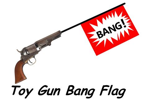 Toy Flag Gun