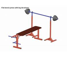 Toy bench press Plan