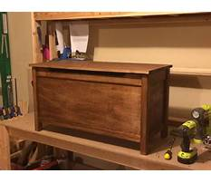 Toy box woodworking plans Plan