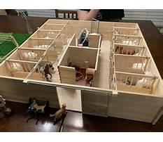 Toy horse barn kits Plan