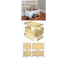 Toy storage box plans free Plan