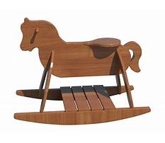 Toy story horse rocker Plan