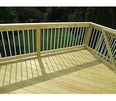 Treated wood deck.aspx Plan