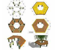 Tree bench plans Plan