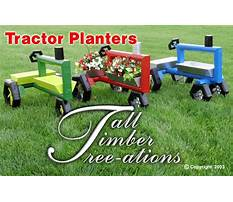 Tree planters for tractors Plan