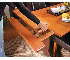 Trestle dining room table plans Plan