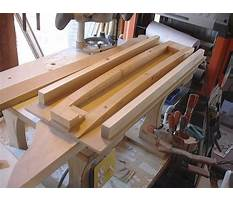 Truss building jig Plan
