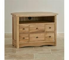 Tv corner cabinet oak Plan