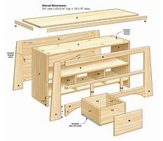 Tv stand blueprints free Plan